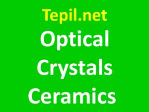 Optical Crystals Ceramics
