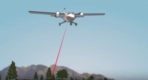 מערכת לידאר למטוס למיפוי שטח בתלת מימד