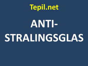 ANTI-STRALINGSGLAS