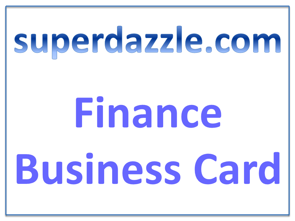 Accountant Business Cards Finance Business Cards Create Your Own