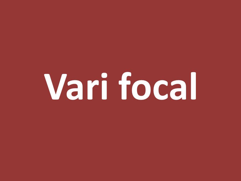 עדשת vari focal