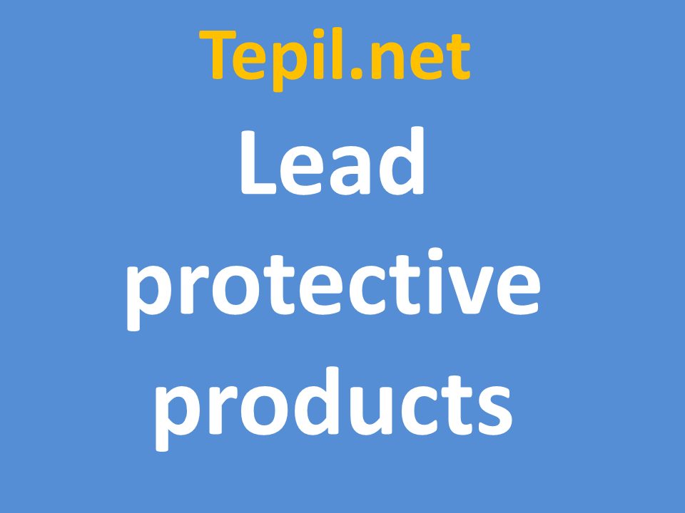 lead protective products