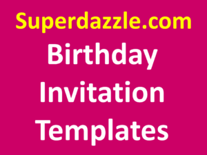 Online Birthday Invitation Templates Custom Invitations