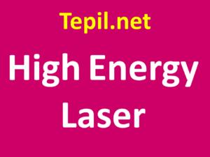 High Energy Laser