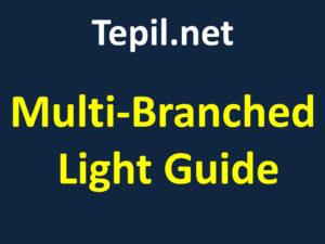 Multi-Branch Fiber Optic Bundles Light Guide - מוליך אור