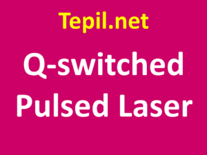 Q-switched Pulsed Laser - לייזר