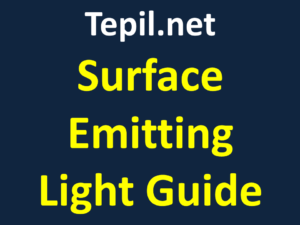Surface Emitting light guide