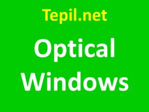 חלונות אופטיים - Optical Windows