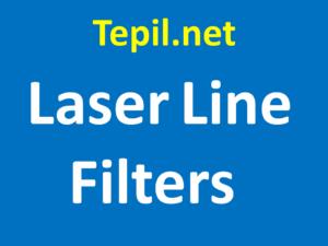 Laser Line Filters - מסנן לייזר