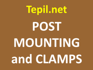 POST MOUNTING and clamps