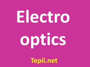 electro optics