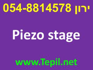Piezo stage