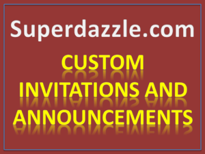 Custom Invitations And Announcements