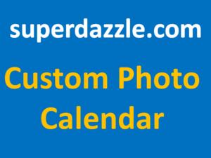 Custom Photo Calendar