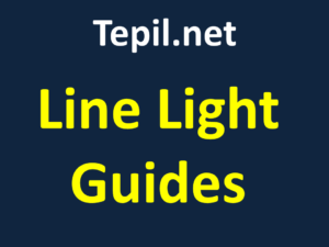 מוליך אור - Line Light Guides