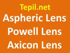 Aspheric Lens Powell Lens Axicon Lens