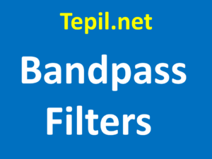 Bandpass Filters - מסנן אופטי