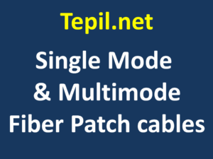 Single Mode & Multimode Fiber Patch cables