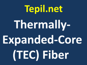 Thermally Expanded Core fiber | TEC fiber - סיב אופטי