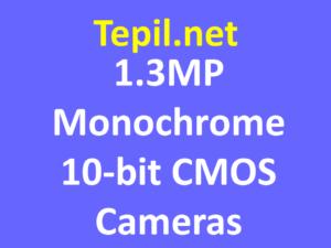 1.3MP Monochrome 10-bit CMOS Cameras - מצלמת מונוכרום סימוס