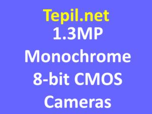 1.3MP Monochrome 8-bit CMOS Cameras - מצלמת סימוס מונוכרום