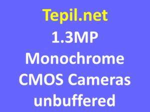 Unbuffered 1.3MP Monochrome CMOS Cameras - מצלמת סימוס מונוכרום