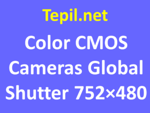 Color CMOS Cameras Global Shutter 752×480 - מצלמת סימוס צבע