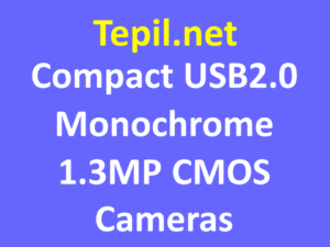 USB2.0 Monochrome CMOS Cameras 1.3MP, Ultra Compact - מצלמת סימוס מונוכרום