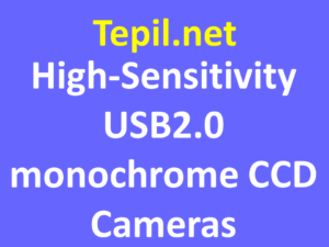 High-Sensitivity USB2.0 Monochrome CCD Cameras - מצלמת מונוכרום סי סי די