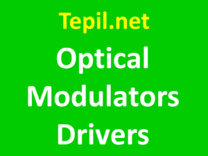 Optical Modulators Drivers