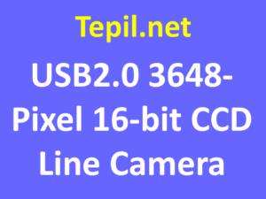 USB2.0 3648-Pixel 16-bit CCD Line Camera - מצלמת קו סי סי די