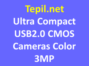 Ultra Compact USB2.0 CMOS Cameras Color 3MP - מצלמה קומפקטית