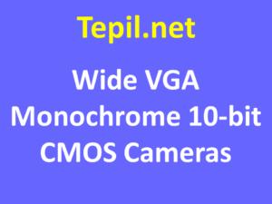 Wide VGA Monochrome 10-bit CMOS Cameras - מצלמת סימוס מונוכרום
