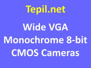 Wide VGA Monochrome 8-bit CMOS Cameras - מצלמת סימוס מונוכרום