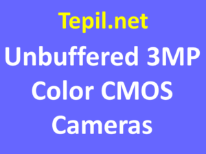 unbuffered 3MP Color CMOS Cameras