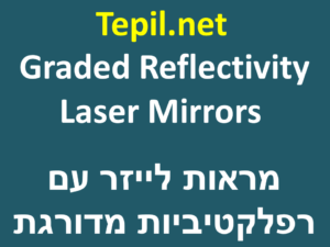Graded Reflectivity Laser Mirrors | מראות לייזר עם רפלקטיביות מדורגת